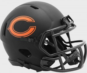 Chicago Bears 2020 Eclipse Riddell Mini Speed Helmet