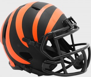 Cincinnati Bengals 2020 Eclipse Riddell Mini Speed Helmet