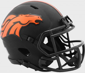 Denver Broncos 2020 Eclipse Riddell Mini Speed Helmet