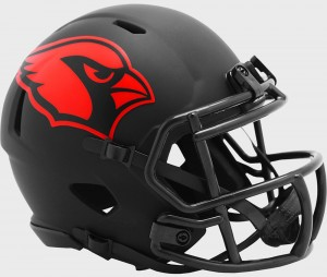Arizona Cardinals 2020 Eclipse Riddell Mini Speed Helmet