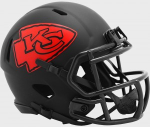 Kansas City Chiefs 2020 Eclipse Riddell Mini Speed Helmet