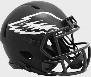 Philadelphia Eagles 2020 Eclipse Riddell Mini Speed Helmet
