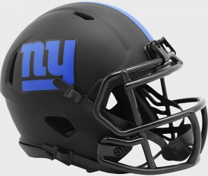 New York Giants 2020 Eclipse Riddell Mini Speed Helmet