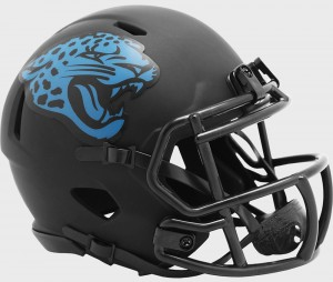 Jacksonville Jaguars 2020 Eclipse Riddell Mini Speed Helmet