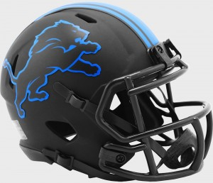 Detroit Lions 2020 Eclipse Riddell Mini Speed Helmet