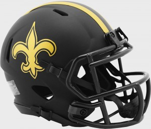 New Orleans Saints 2020 Eclipse Riddell Mini Speed Helmet