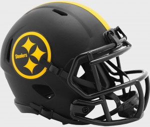 Pittsburgh Steelers 2020 Eclipse Riddell Mini Speed Helmet