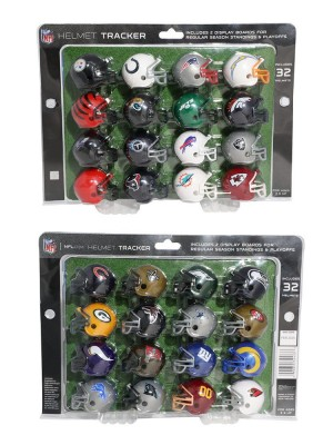 NFL Standings Tracker 2021 Riddell Vending Size Vsr4 Helmet Set 32pc