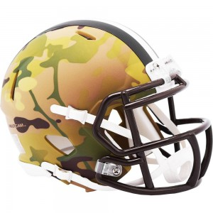 Cleveland Browns 2020 Camo Riddell Mini Speed Helmet