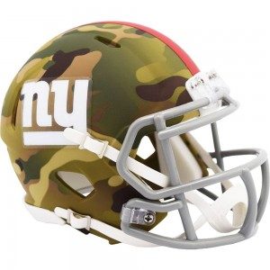 New York Giants 2020 Camo Riddell Mini Speed Helmet