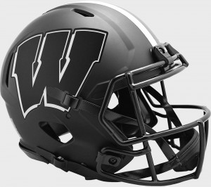 Wisconsin Badgers 2020 Eclipse Riddell Full Size Authentic Speed Helmet