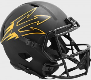 Arizona St Sun Devils 2020 Eclipse Riddell Full Size Replica Speed Helmet