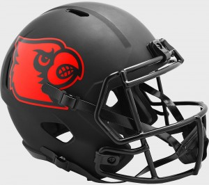 Louisville Cardinals 2020 Eclipse Riddell Full Size Replica Speed Helmet
