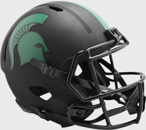 Michigan St Spartans 2020 Eclipse Riddell Full Size Replica Speed Helmet