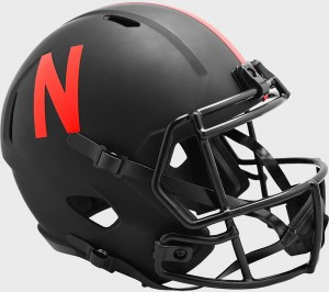 Nebraska Cornhuskers 2020 Eclipse Riddell Full Size Replica Speed Helmet