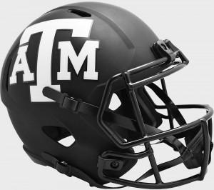 Texas A&M Aggies 2020 Eclipse Riddell Full Size Replica Speed Helmet