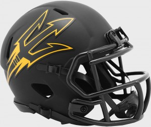 Arizona St Sun Devils 2020 Eclipse Riddell Mini Speed Helmet