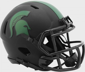Michigan St Spartans 2020 Eclipse Riddell Mini Speed Helmet