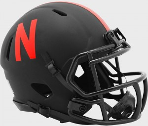 Nebraska Cornhuskers 2020 Eclipse Riddell Mini Speed Helmet