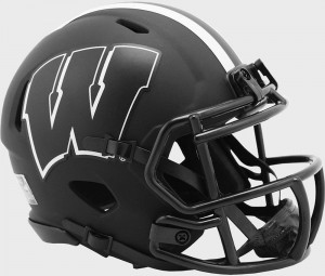 Wisconsin Badgers 2020 Eclipse Riddell Mini Speed Helmet