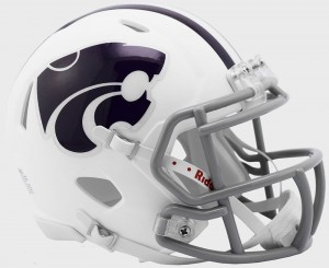 Kansas St Wildcats Revolution Speed Mini Helmet