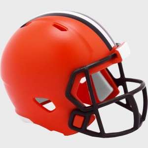 Cleveland Browns 2020 Riddell Pocket Pro Speed Helmet