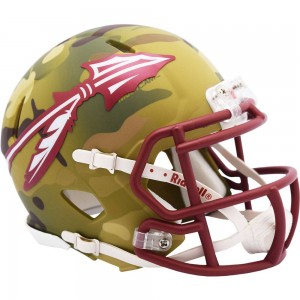 Florida St Seminoles 2020 Camo Riddell Mini Speed Helmet