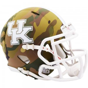 Kentucky Wildcats 2020 Camo Riddell Mini Speed Helmet