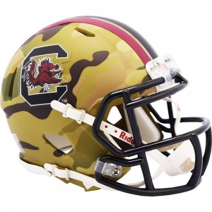 South Carolina Gamecocks 2020 Camo Riddell Mini Speed Helmet