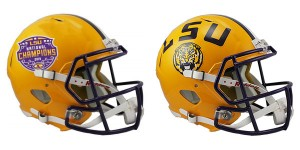LSU Tigers 2019 National Champions Riddell Mini Speed Helmet