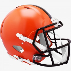 Cleveland Browns 2020 Riddell Full Size Authentic Speed Helmet