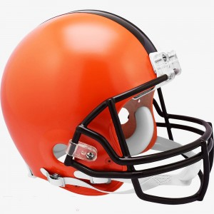 Cleveland Browns 2020 Riddell Full Size Authentic Vsr4 Helmet