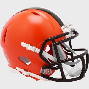 Cleveland Browns 2020 Riddell Mini Speed Helmet