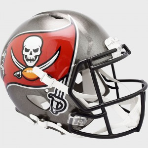 Tampa Bay Buccaneers 2020 Riddell Full Size Authentic Speed Helmet