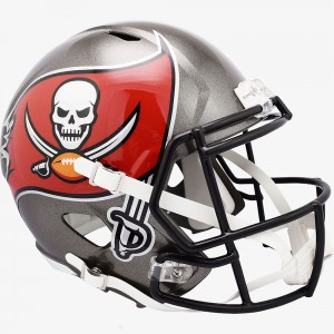 Tampa Bay Buccaneers 2020 Riddell Full Size Replica Speed Helmet