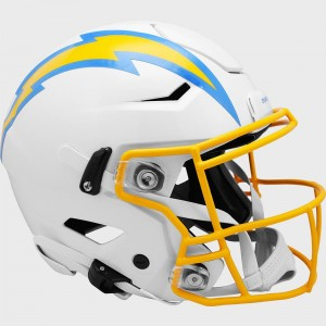 Los Angeles Chargers Riddell Full Size Authentic SpeedFlex Helmet