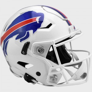 Buffalo Bills Riddell Full Size Authentic SpeedFlex Helmet New 2021