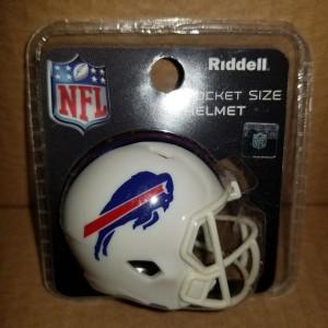 Buffalo Bills Riddell Pocket Pro Speed Helmet New 2021