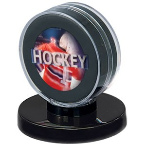 Black Puck Holder
