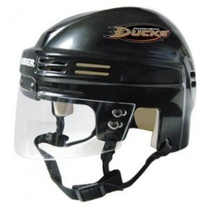 Anaheim Ducks Home Authentic Mini Helmet