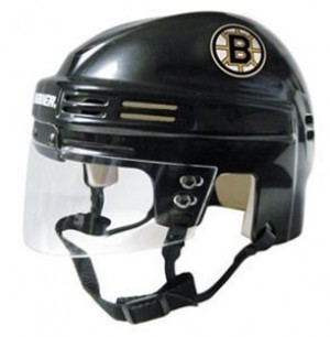 Boston Bruins Home Authentic Mini Helmet