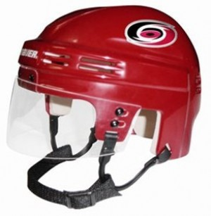 Carolina Hurricanes Home Authentic Mini Helmet