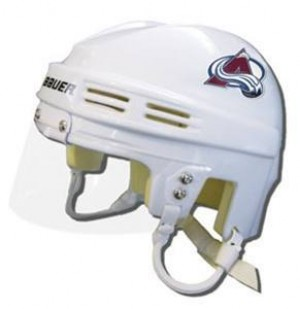 Colorado Avalanche Away Authentic Mini Helmet