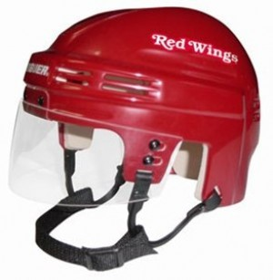 Detroit Red Wings Home Authentic Mini Helmet