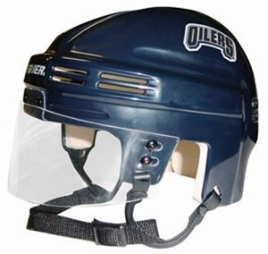 Edmonton Oilers Home Authentic Mini Helmet