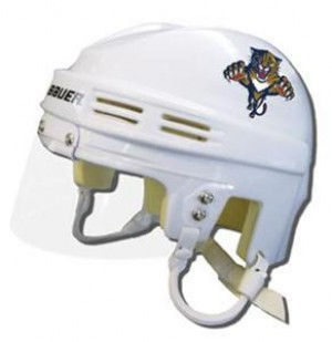 Florida Panthers Away Authentic Mini Helmet