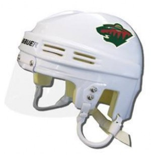 Minnesota Wild Away Authentic Mini Helmet