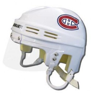 Montreal Canadiens Away Authentic Mini Helmet
