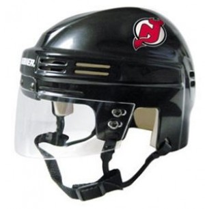 New Jersey Devils Home Authentic Mini Helmet