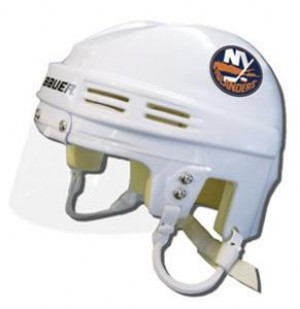 New York Islanders Away Authentic Mini Helmet